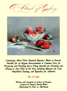 Cookery Book Title
